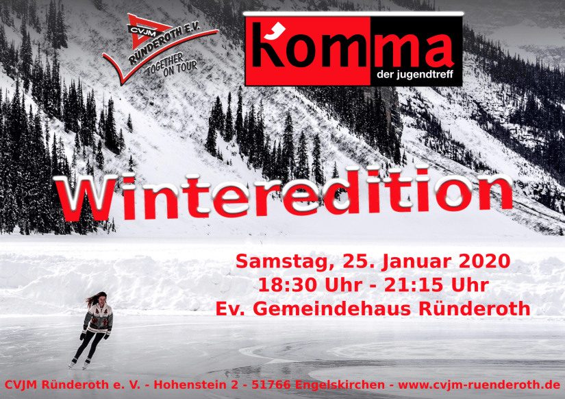 Kom'ma Winteredition