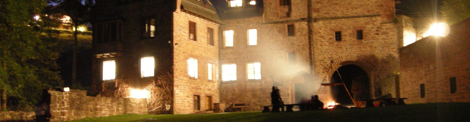 21.-23.10.2016 Jungscharfreizeit auf der Burg Steinegg