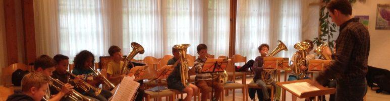 23. und 30.05.2017 Schnupperstunden beim Posaunenchor