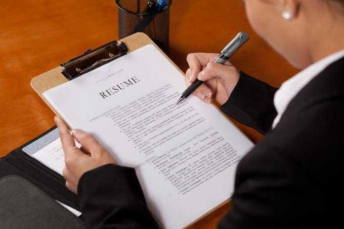 Как написать резюме, чтобы получить приглашение на собеседование