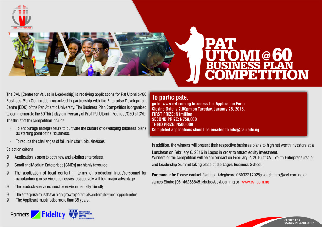 PAT UTOMI BUSINESS PLAN COMPETIOON-FINAL COPY