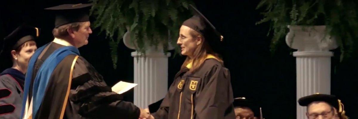 Paula Schuerer: Master of Science in Biomedical Sciences `17, University of Missouri