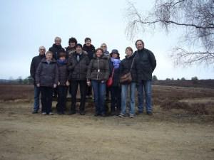 Gruppenbild Lünebürger Heide