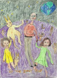 David Klein: drawing for grandchildren