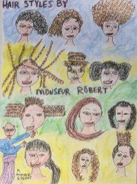 David Klein: drawing for granddaughters