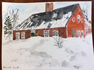 Pamela Walker: Snowbound family home