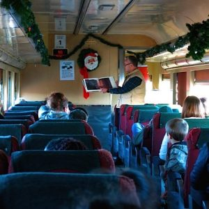 2019 Polar Express Train Ride @ Buckingham Branch