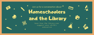 Homeschoolers and the Library @ Farmville Library