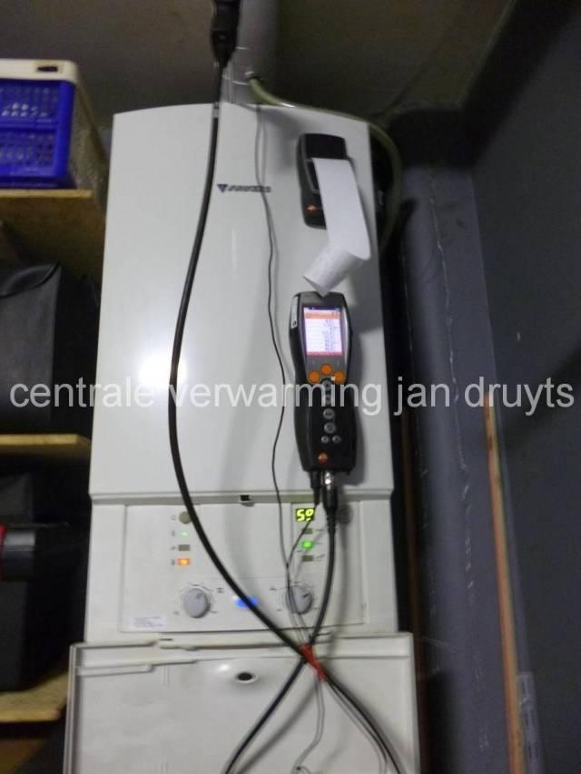 Onderhoud Junkers-Centrale verwarming Jan Druyts