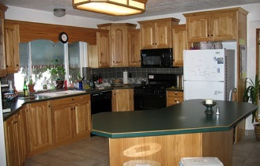 the CVUU kitchen area