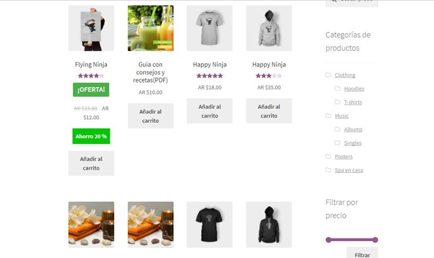 productos ofertas