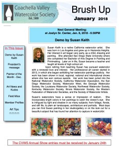 Brush Up Newsletter Image - January 2018