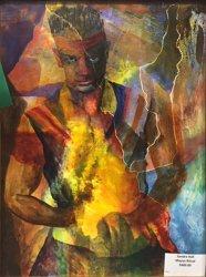 Open Presentation, Honorable Mention - Sandra Hall - Mayan Ritual