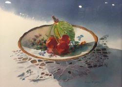 Traditional Presentation, Honorable Mention - Diane Morgan - Sunlit Cherries