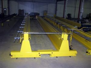 Top Running Bridge Crane with Double Bogie Endtrucks