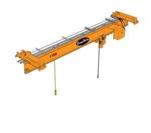 Under Hung Single Girder Bridge Crane