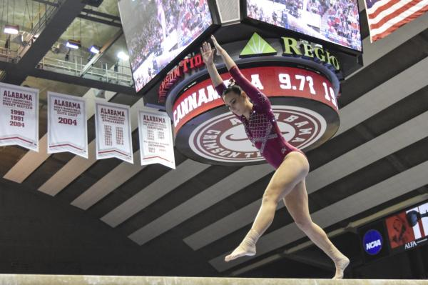 Gymnasts set career highs in loss to LSU – The Crimson White