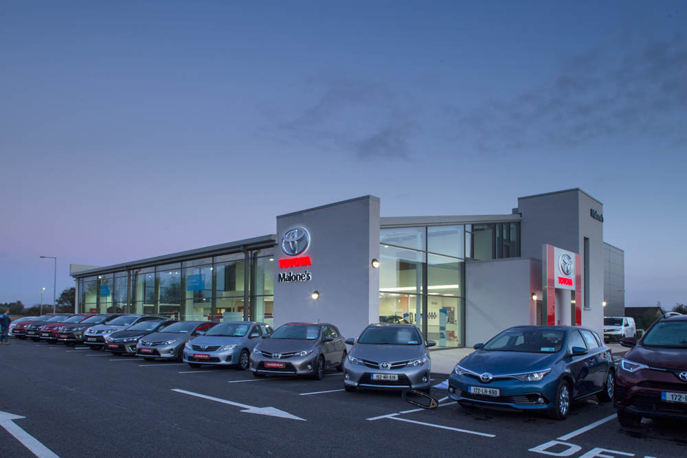 Caulfield Wright Architects Dublin architects dublin Ireland car dealerships enterprise architect