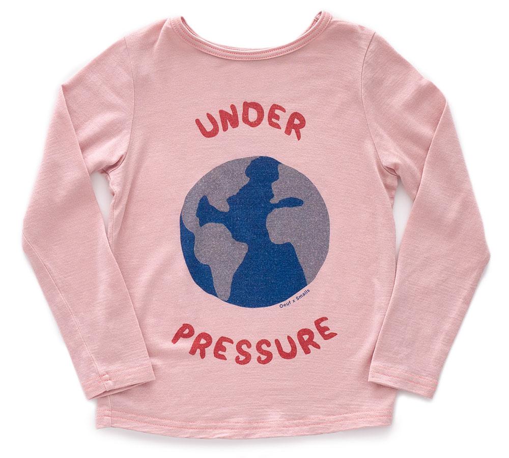 Pinks Smalls Under Pressure T Shirt