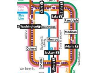 CTA LOOP MAP