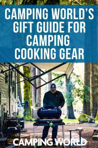 Camping World's gift guide for camping cooking