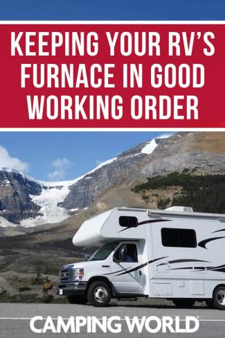 Keeping your RV's furnace in good working order
