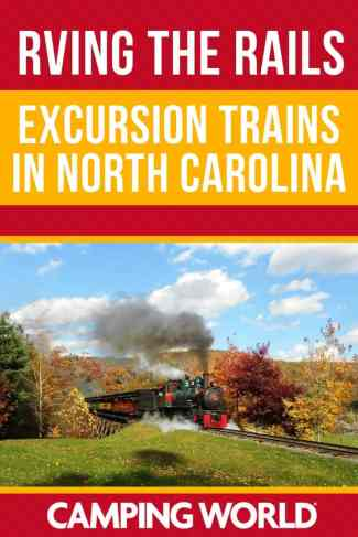Excursion trains in North Carolina