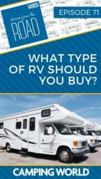 What type of RV should you buy?