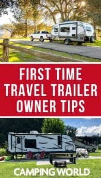 First time travel trailer tips