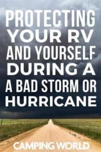 Protecting yourself during a bad storm or hurricane