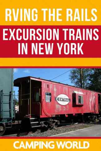 Excursion trains in New York