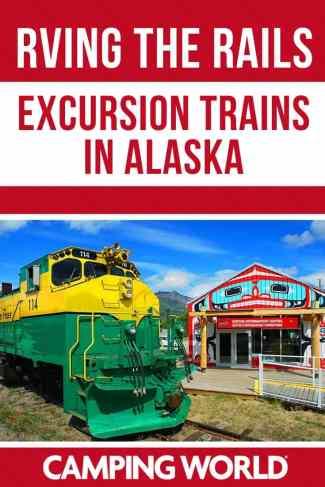 Excursion trains in Alaska