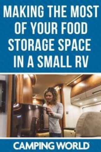 Tips for making the most of your food storage space in a small RV
