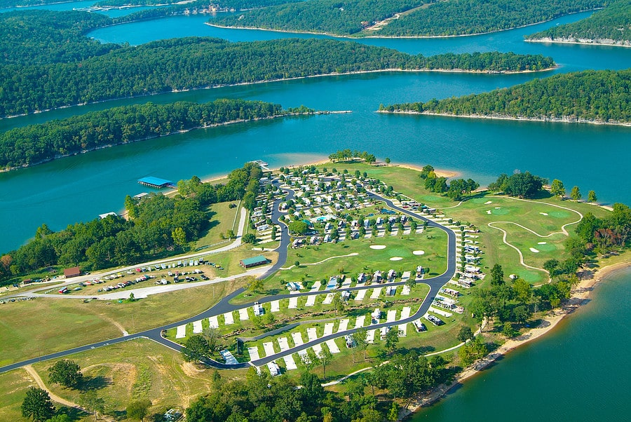 ozarks rv resort arkansas