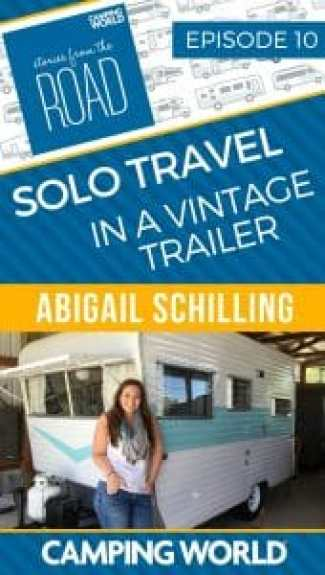 Solo Travel in a Vintage Trailer with Abigail Schilling