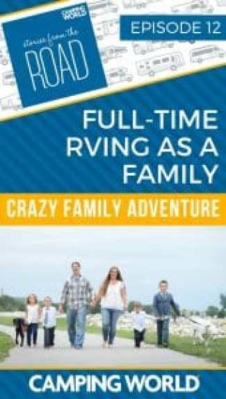 Full-time RVing as a Family with Crazy Family Adventure