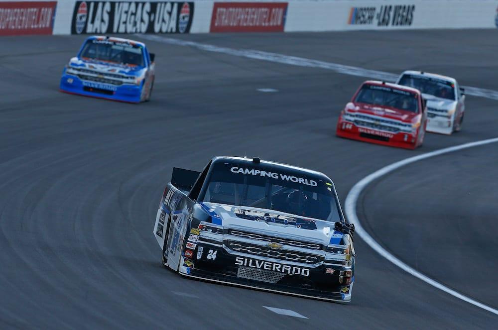 RVing at Las Vegas Motor Speedway