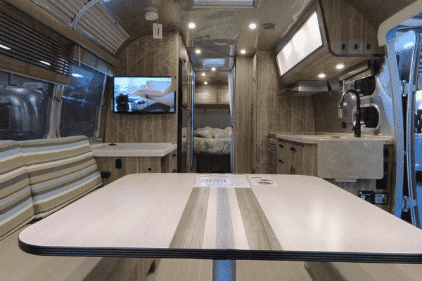 When touring RVs, be sure to spend plenty of time in your favorites. Don't be afraid to sit down, lay on the bed, or stand in the shower.