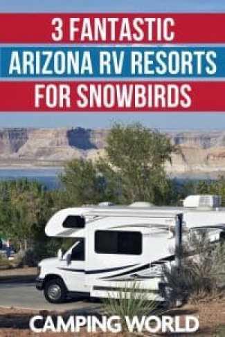 3 fantastic Arizona RV resorts for snowbirds