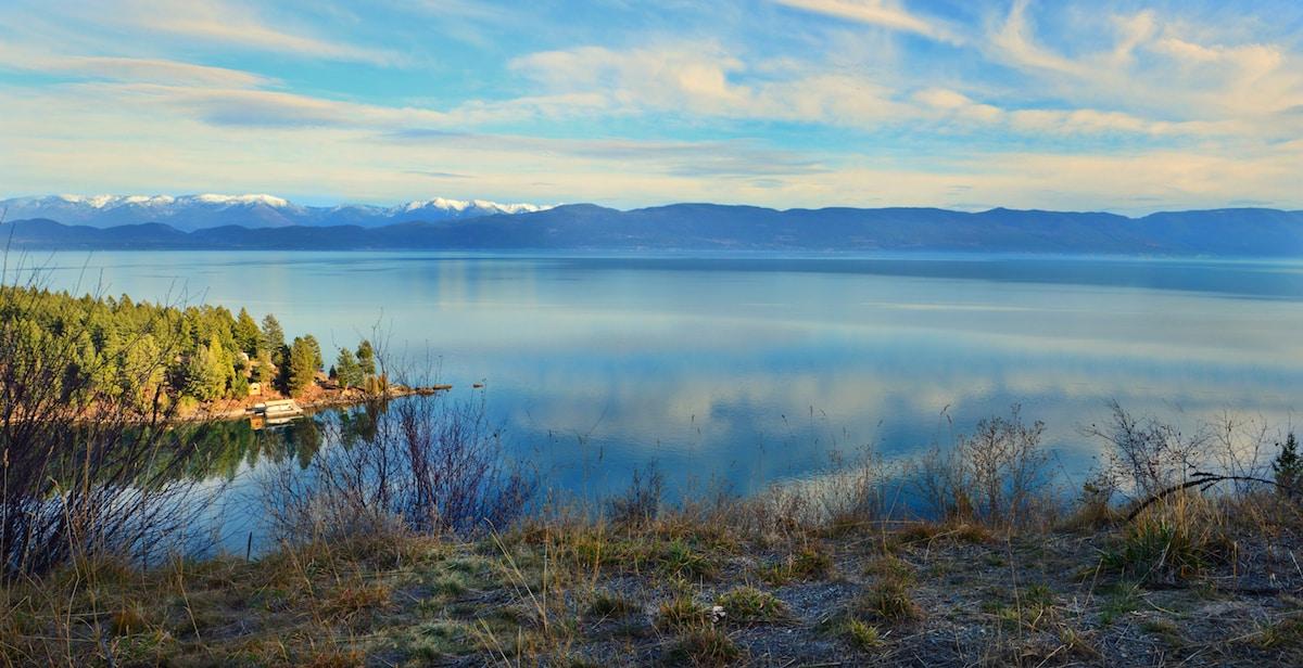 Flathead Lake in the beautiful Northwest corner of Montana.
