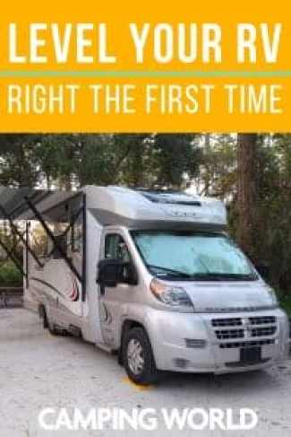 Level Your RV Right the First Time