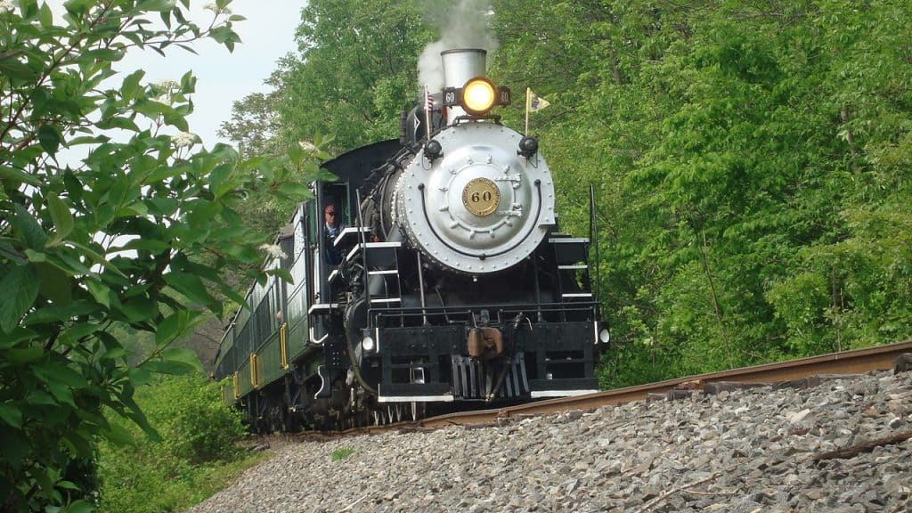 Black River and Western Railroad Steam Engine