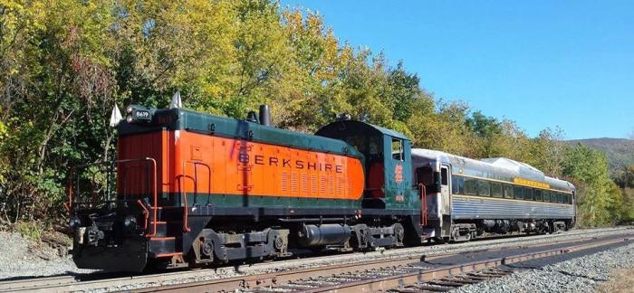 Berkshire Train with Diesel Engine