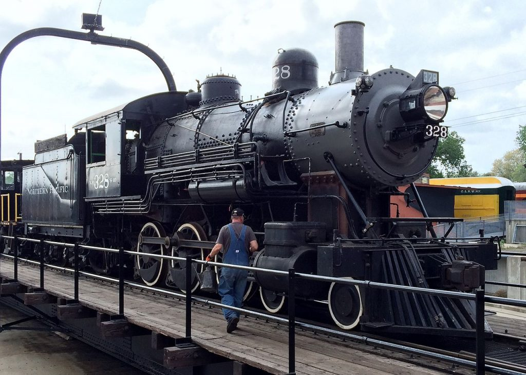 Wisconsin Great Northern Railroad Steam Locomotive