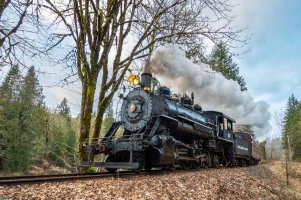 Chehalis Centralia Railroad Steam Engine