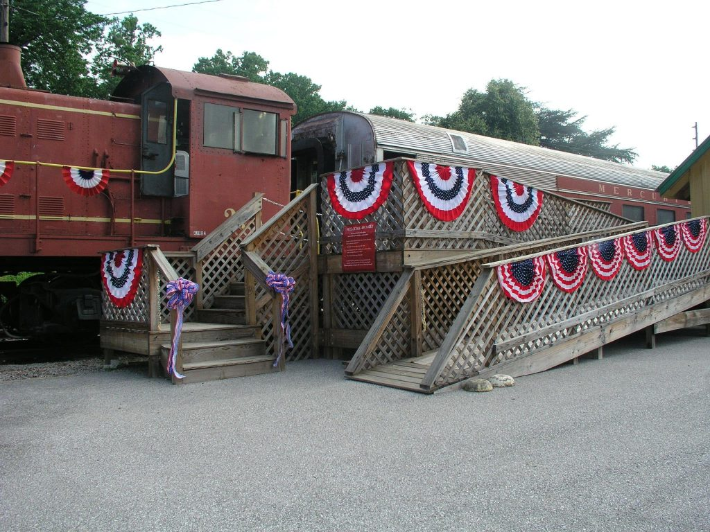 Excursion Trains in Alabama - North Alabama Railroad Entrance