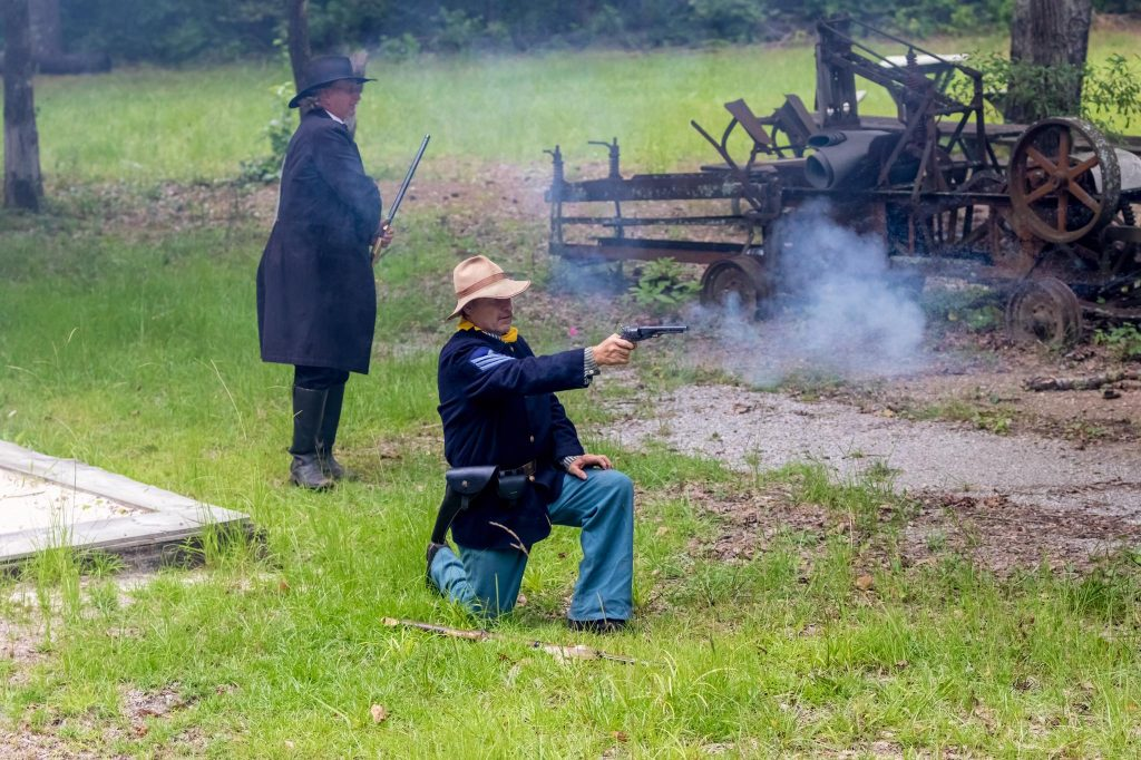 Excursion Trains in Alabama - Heart of Dixie Railroad Wild West Shootout