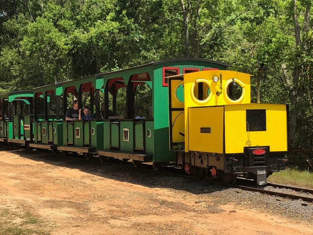 Excursion Trains in Alabama - Wales West Light Rail
