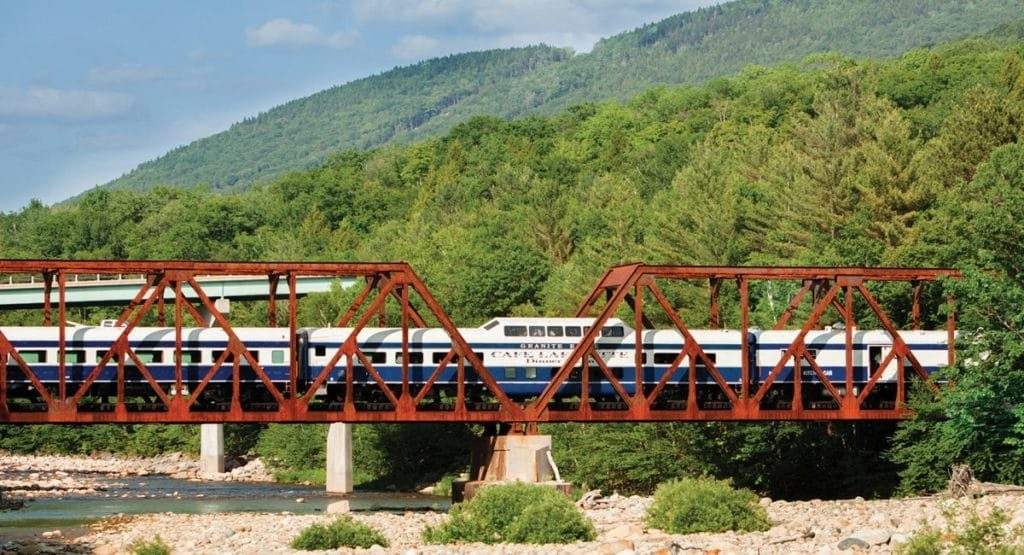 Excursion Trains in New Hampshire - Cafe Lafayette Dinner Train