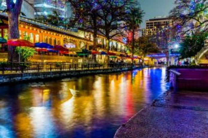 The Riverwalk at San Antonio, Texas